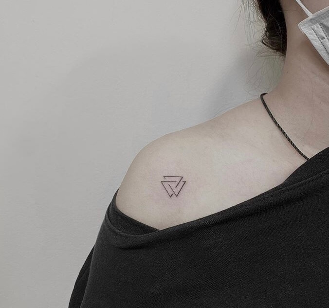 Creative Geometry Small Tattoo Ideas For Women