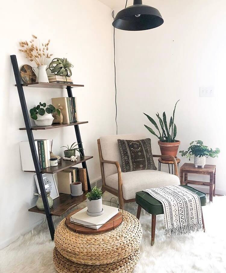 boho leisure area