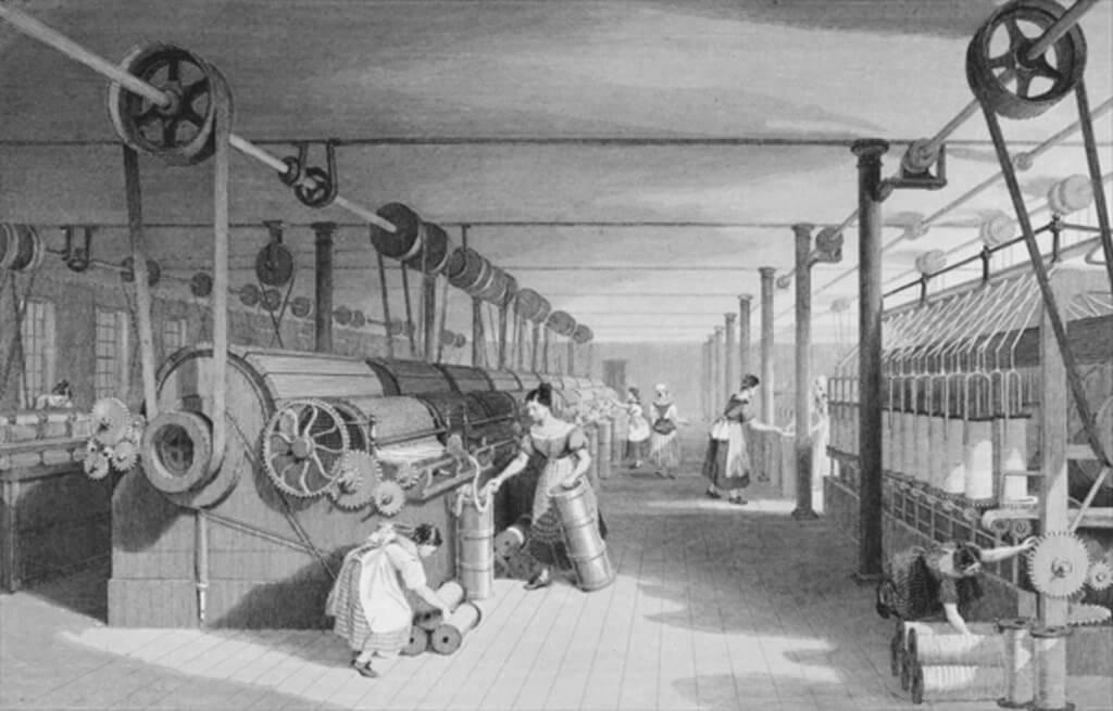 18th century British textile industry