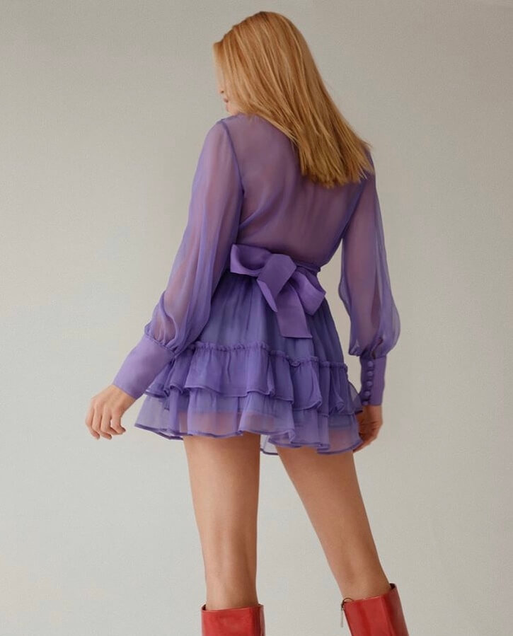 silk clothes for young women