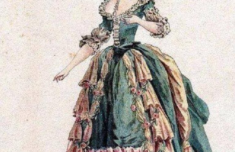 British clothing fashion in the period of change