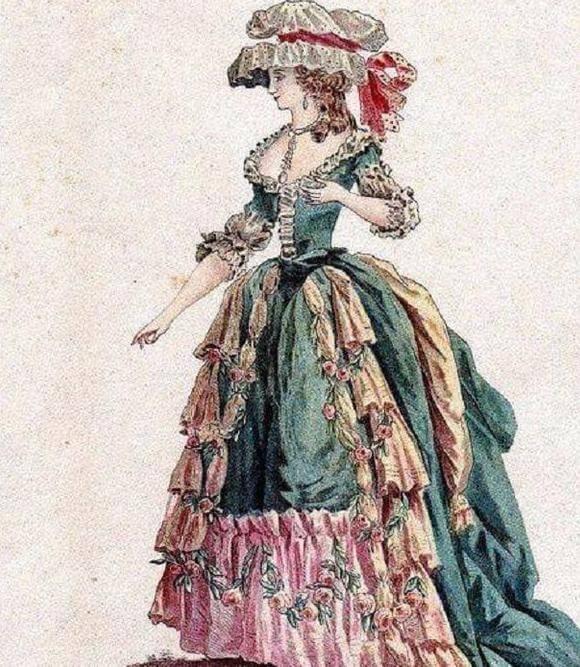 18th century British women's clothing