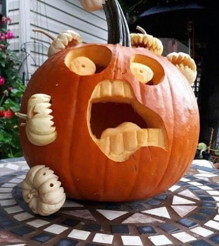Halloween pumpkin ideas