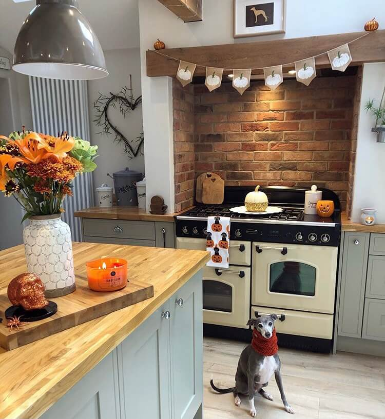 Halloween kitchen decoration ideas