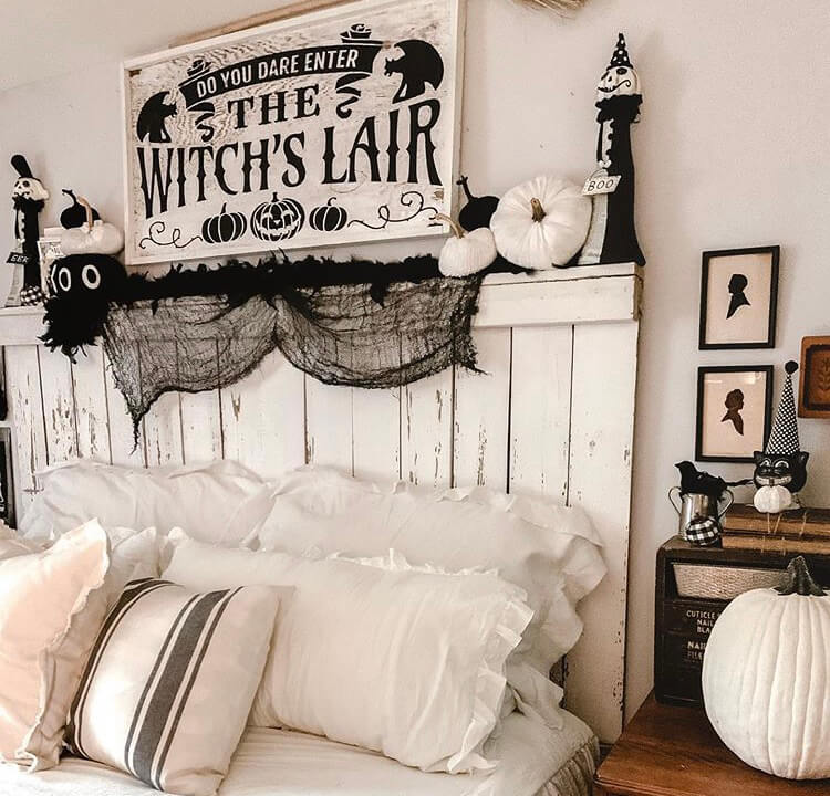 Halloween bedroom decoration ideas