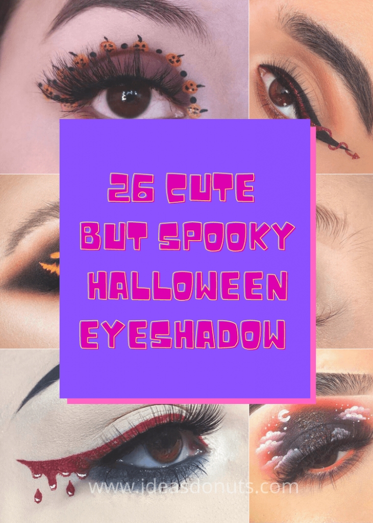 26 cute but spooky Halloween eyeshadow