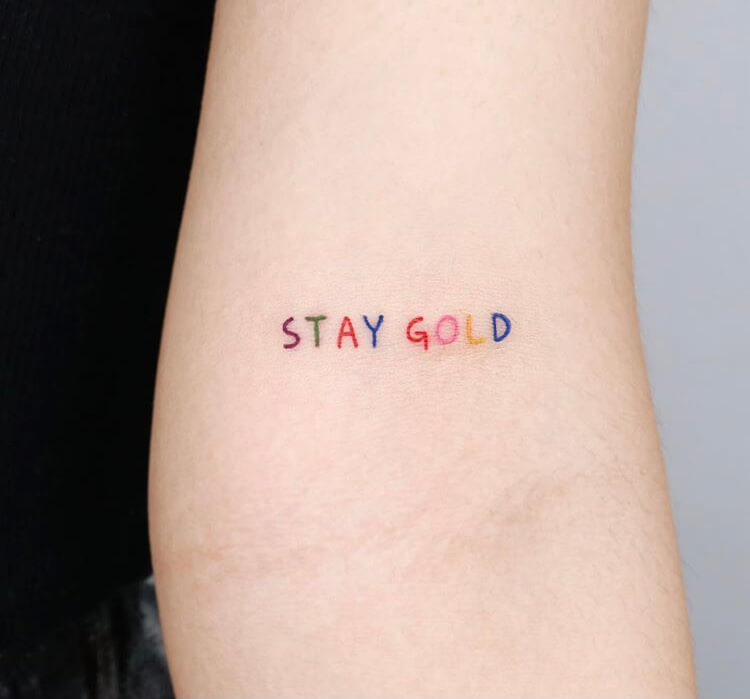 29 Meaningful And Unique Designs For Mini Tattoo