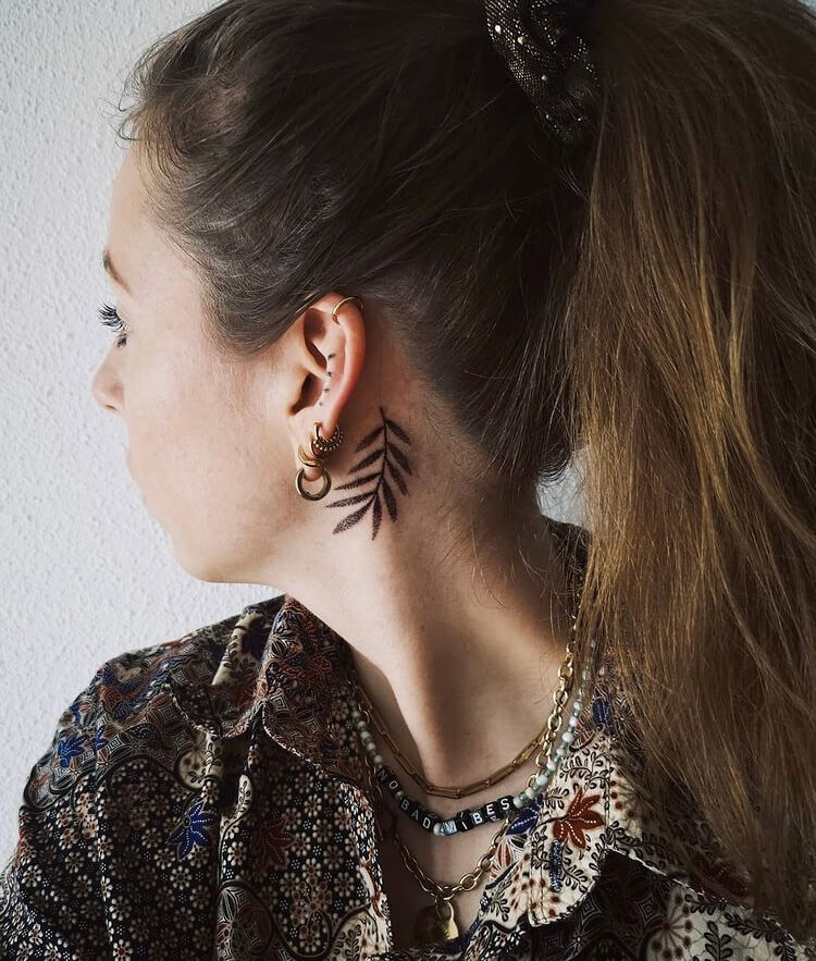 Check out these unique behind the ear tattoo design ideas and get inspired for your next tattoo.