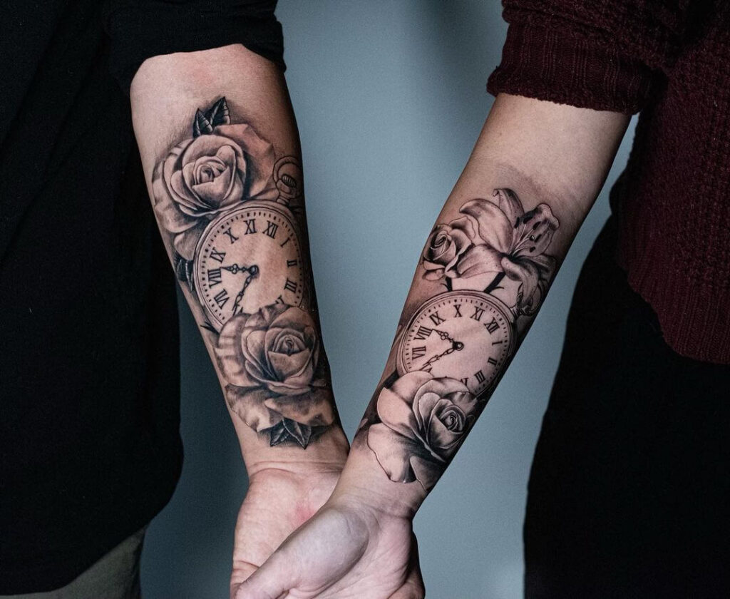 35 Perfect Couple Tattoo Design Ideas