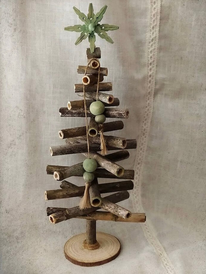 If you want to place multiple Christmas trees in your home. Then, a small tabletop Christmas tree is an ideal choice.