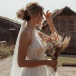 Chic Bohemian Wedding Dress ideas