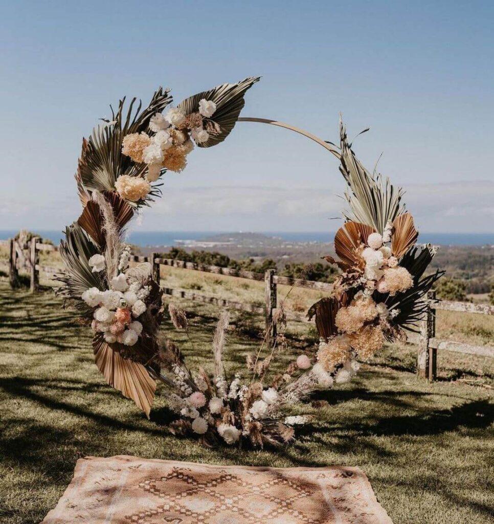 Ceremony background