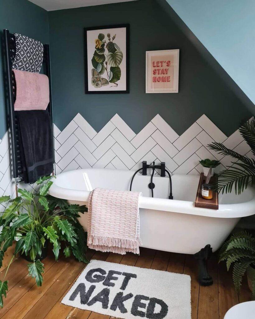 Creative tile placement