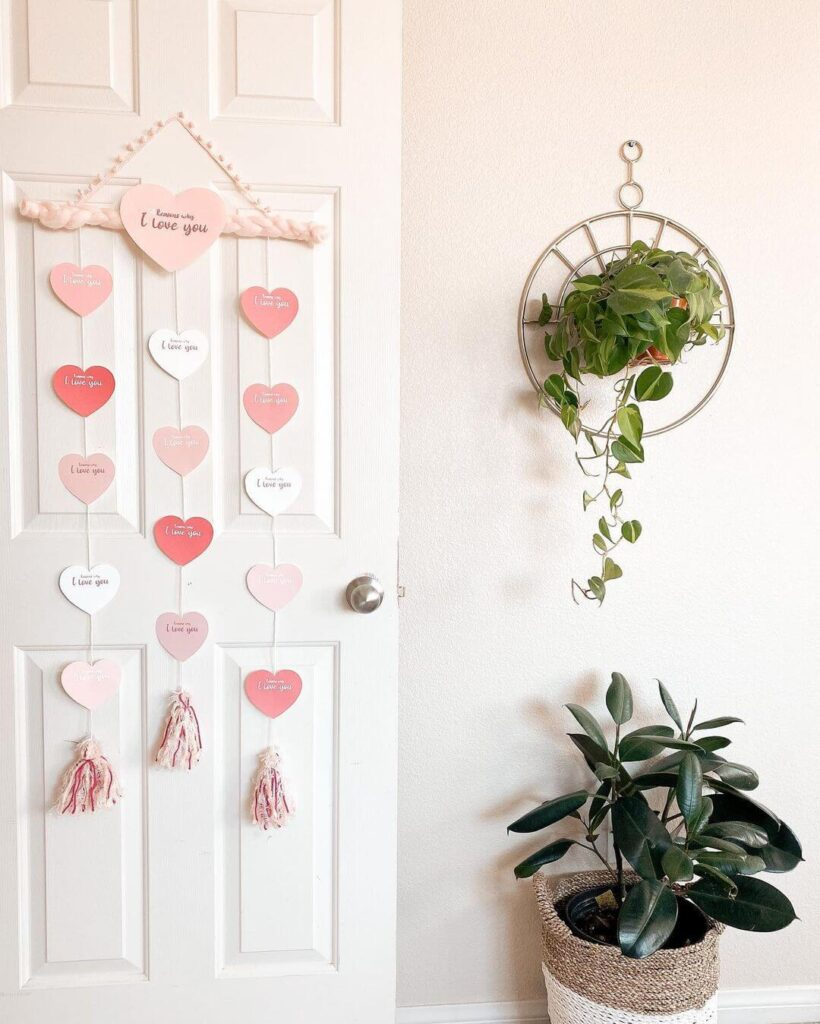 Valentine's Day Door decor