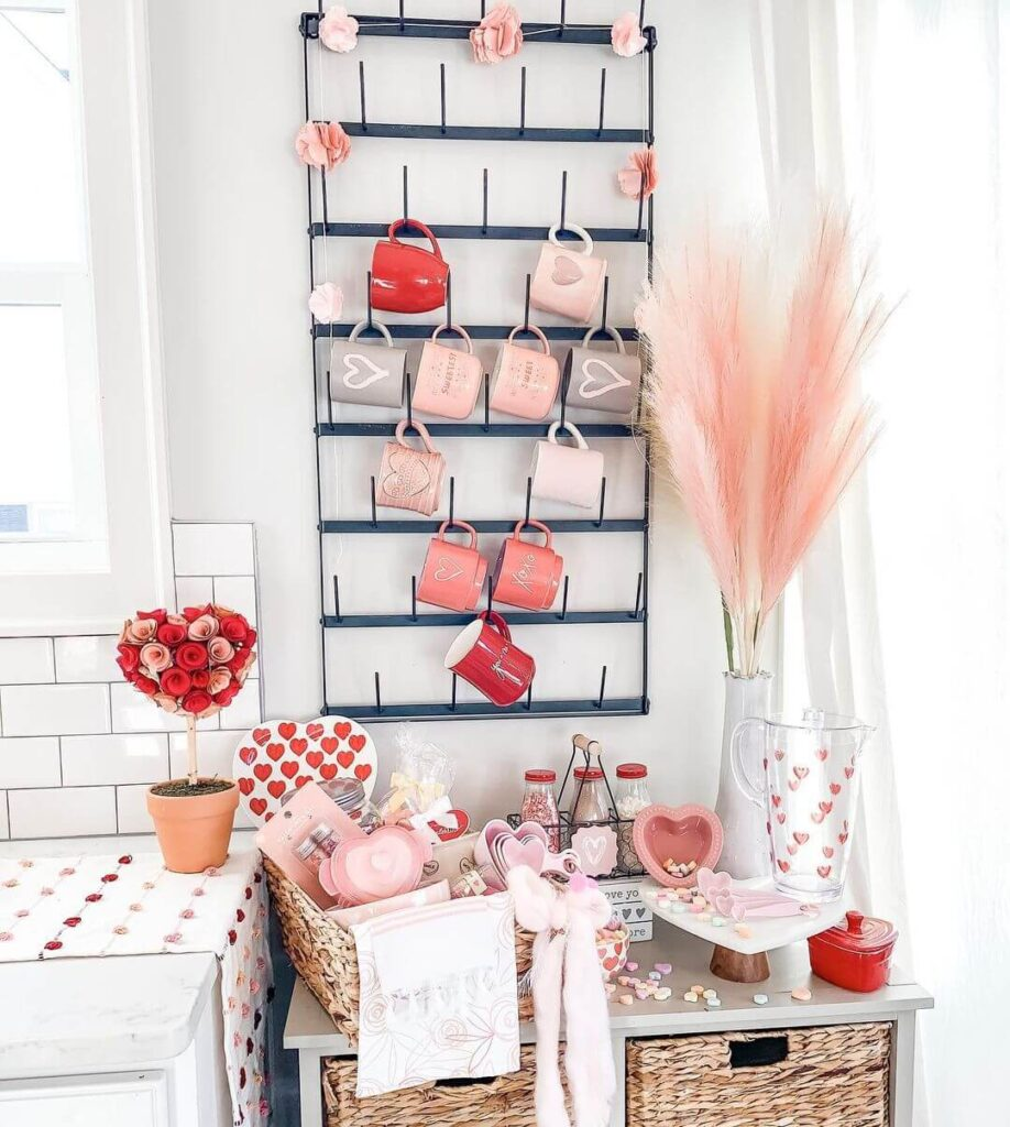 Valentine's day wall decor