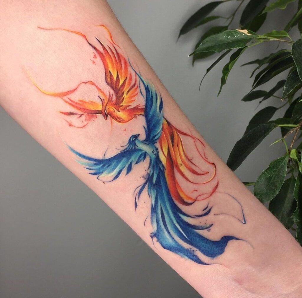 Ice and Fire Phoenix