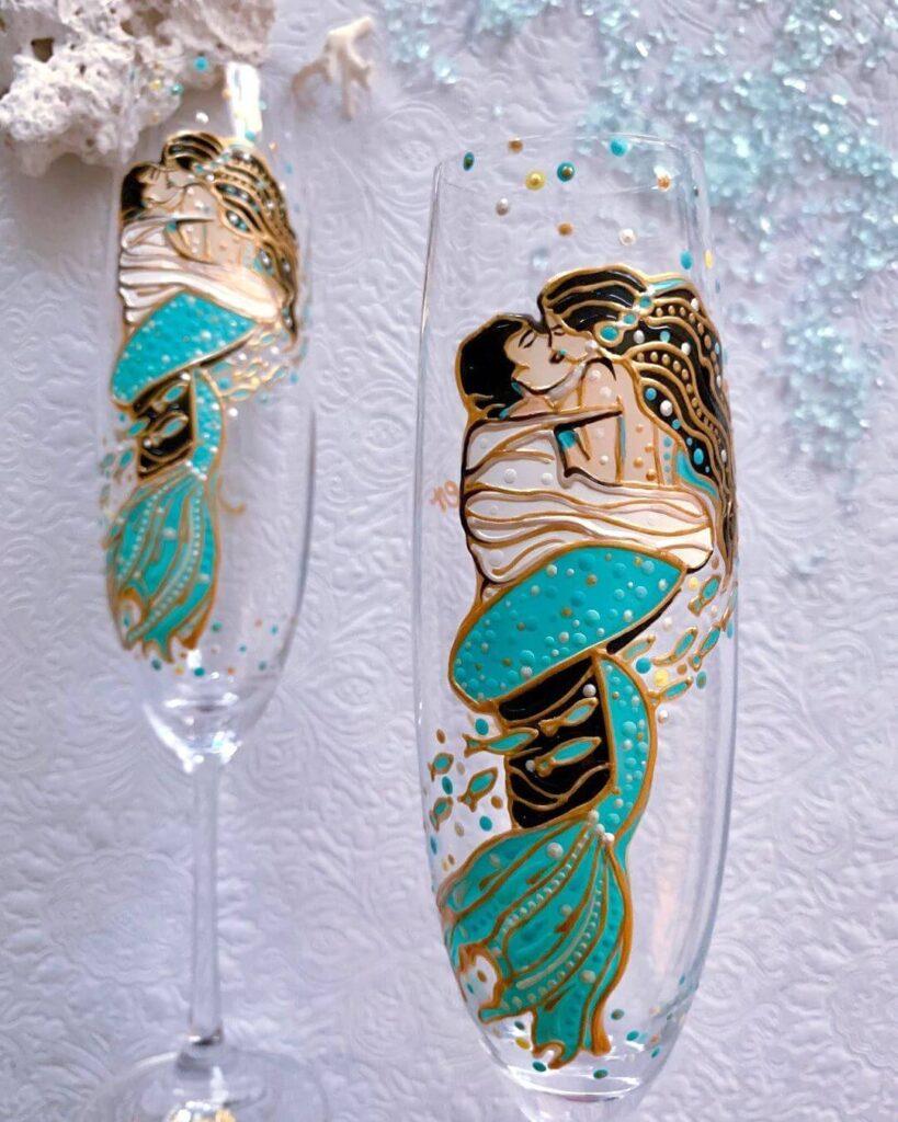 Amazing Wedding glasses