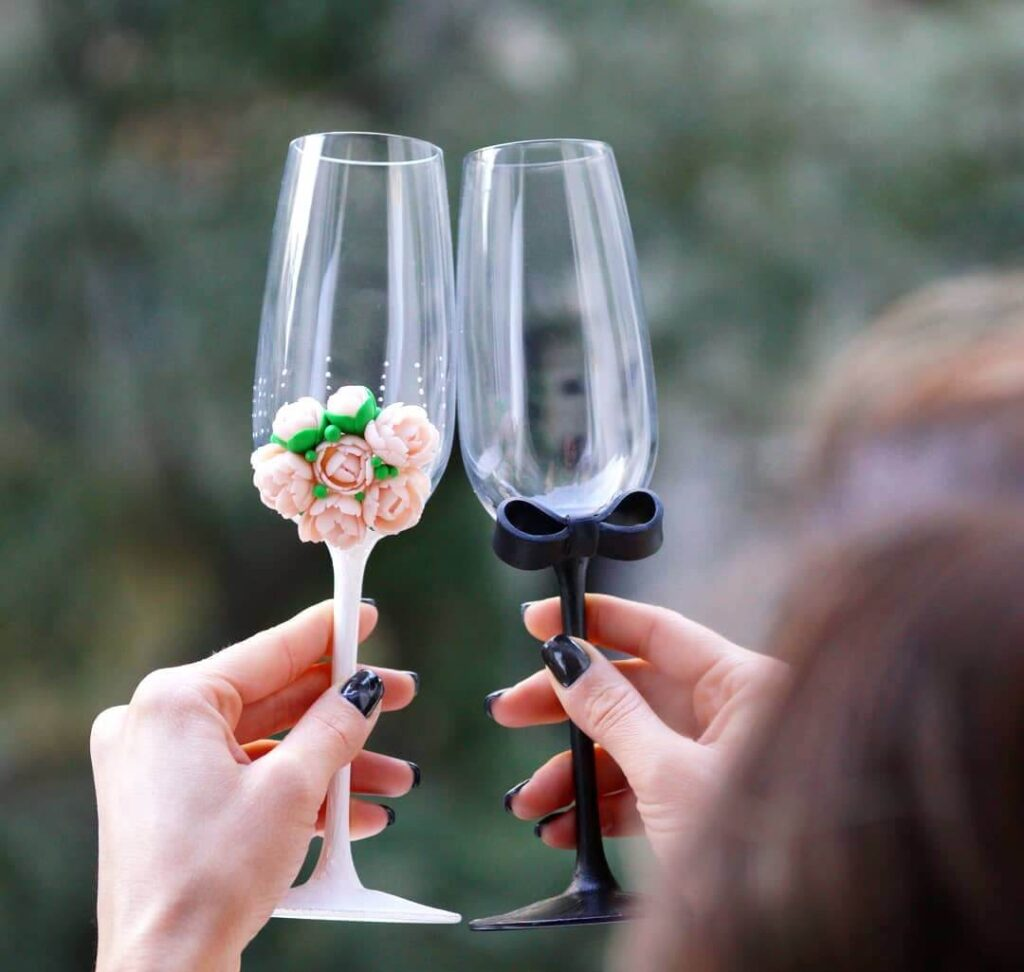 Fashion Wedding glasses