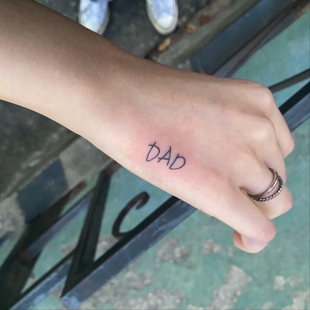 Hand family tattoo