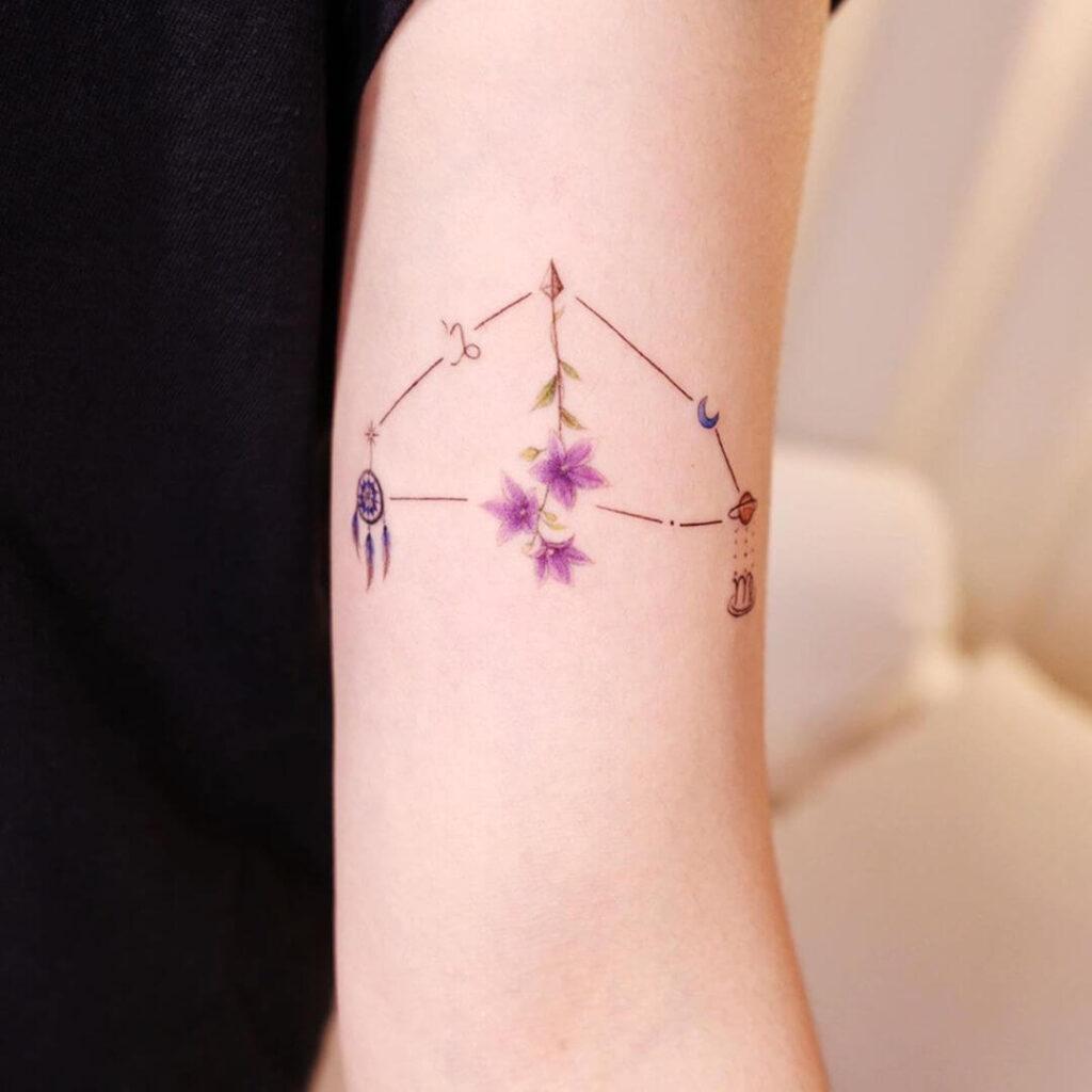 Family Horoscope Tattoo