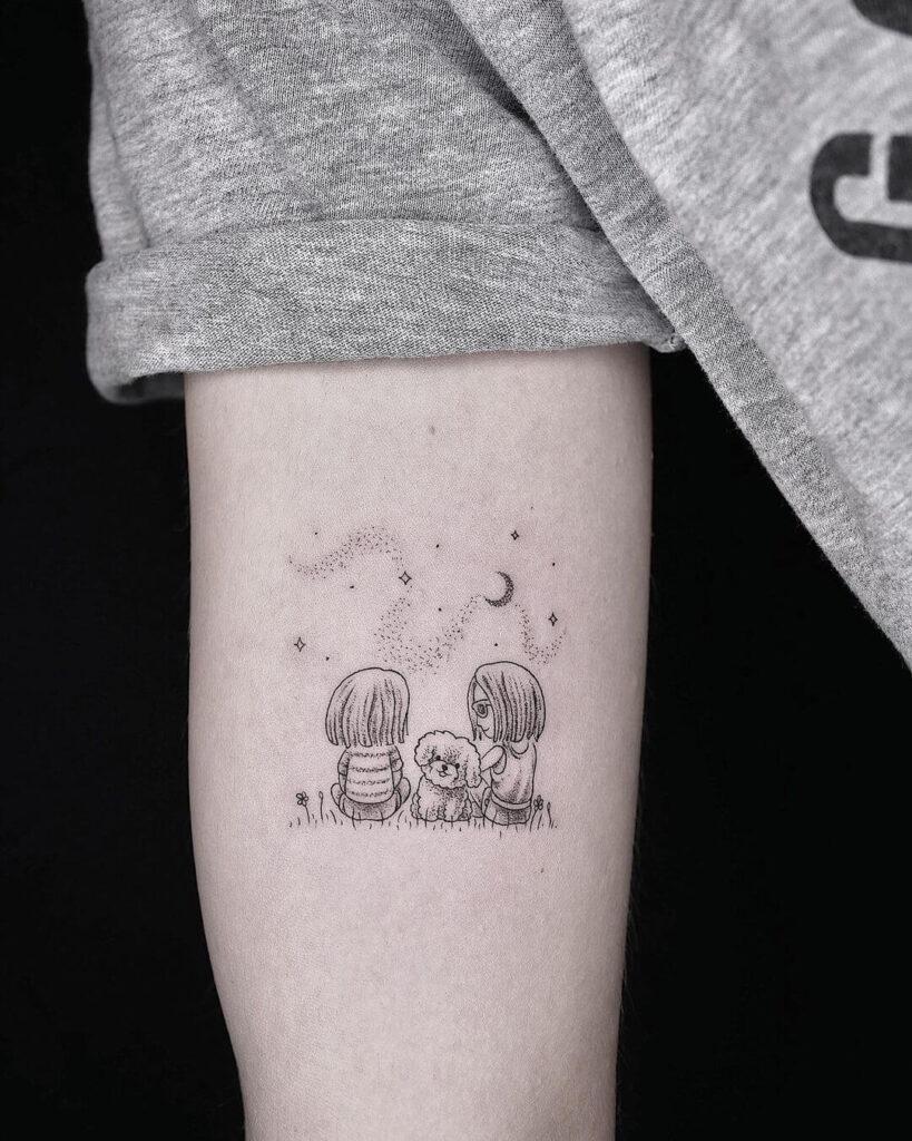 Cute family tattoo