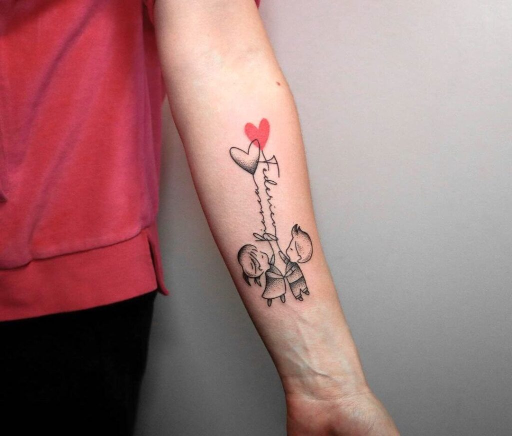 family tattoo for kids