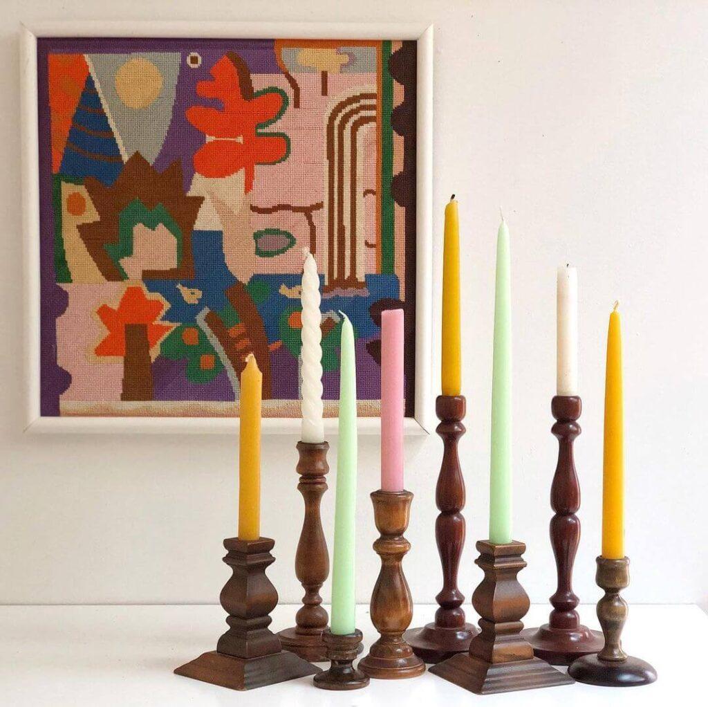 Bright color decorations