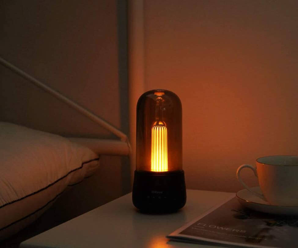 Candle atmosphere night light