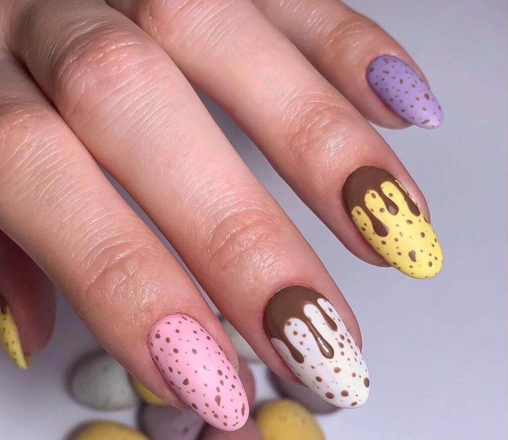 Creative Easter Egg Nails