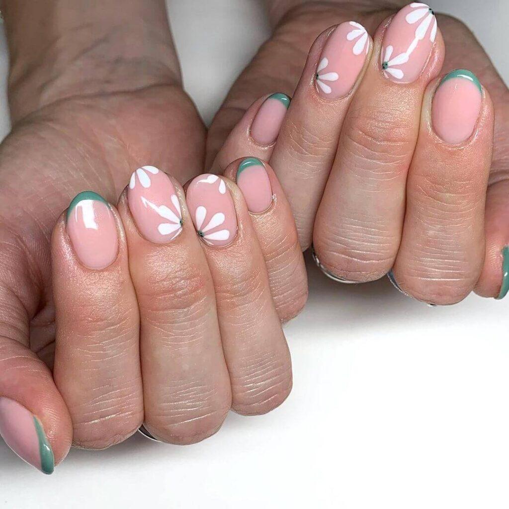 Cute flower nails