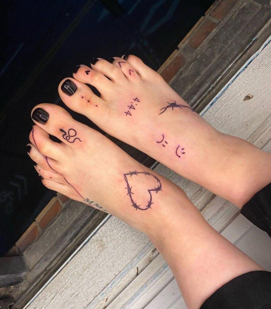 Free Foot tattoo