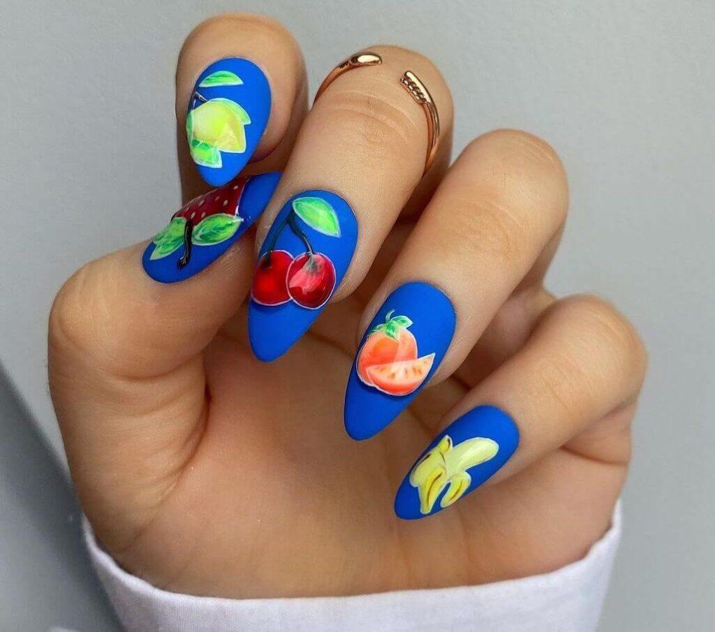 Glamour fruit nails
