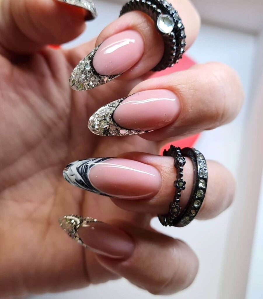 Luxury French nail