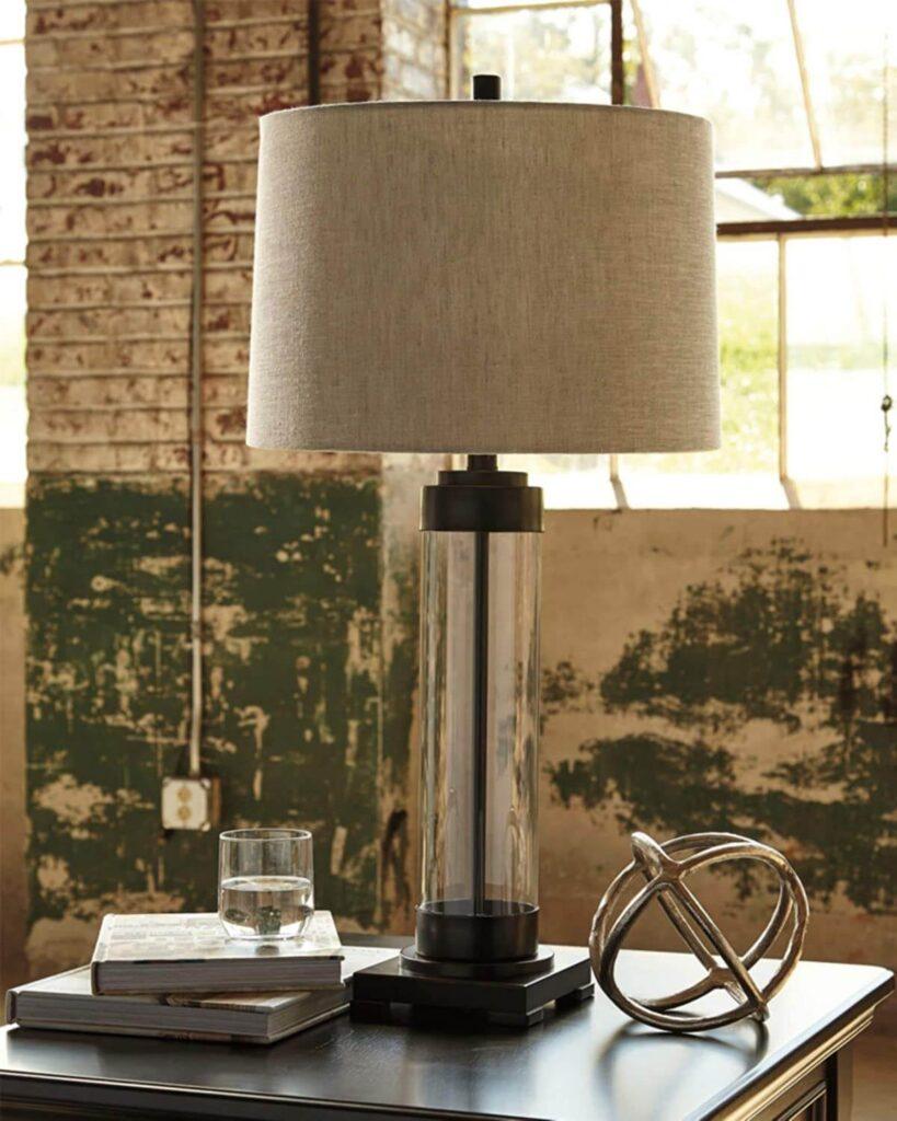 Talar Glass Table Lamp