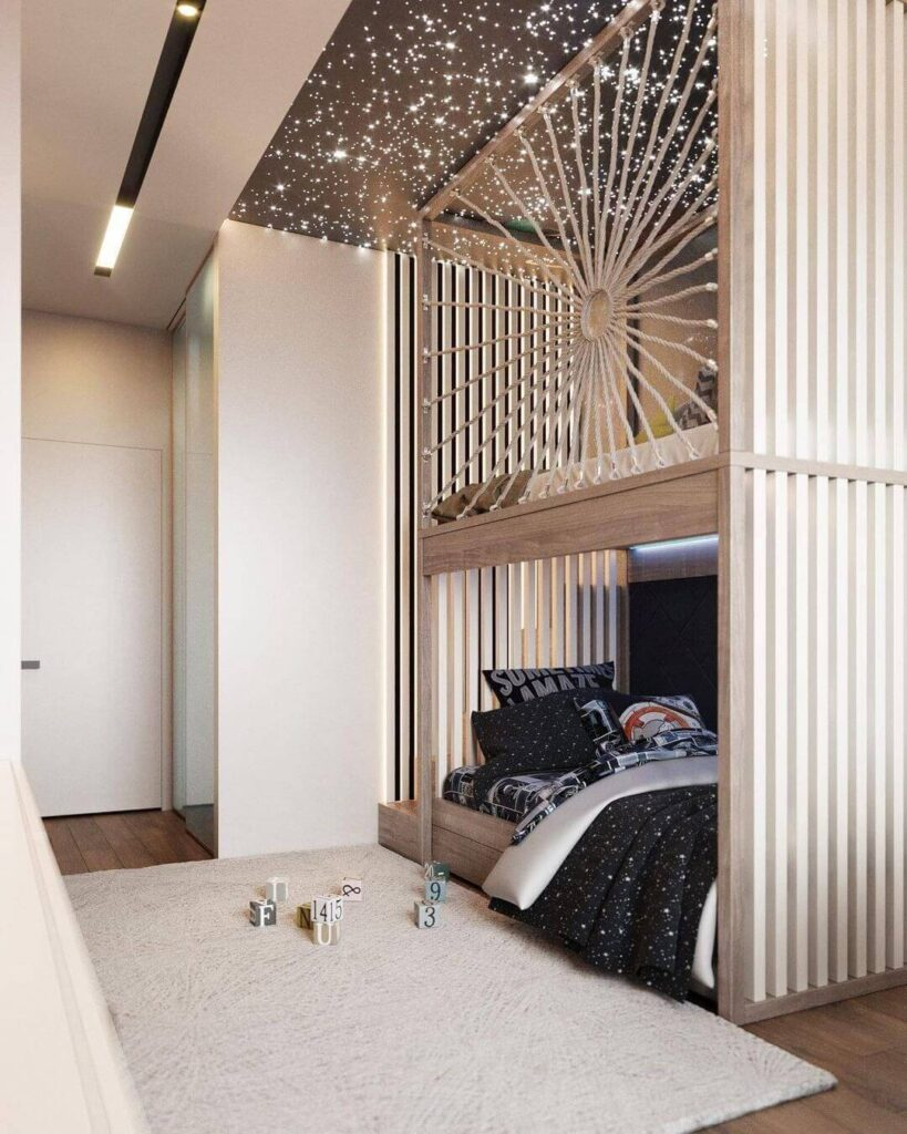 Teen bedroom decoration
