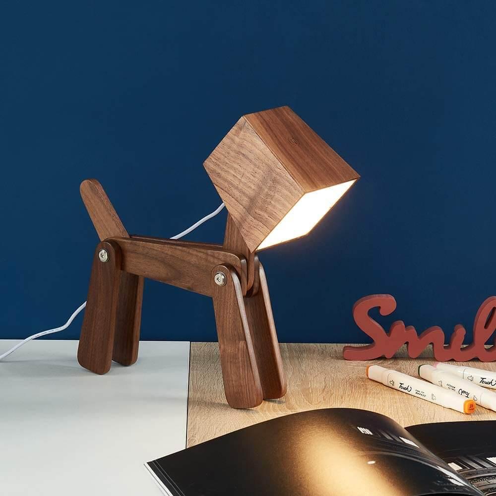Unique Dog Table Lamp