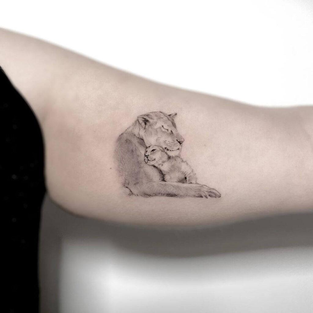 Meaningful animal tattoos