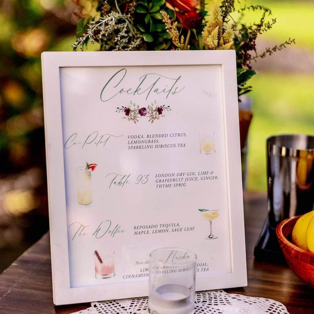 Creative menu