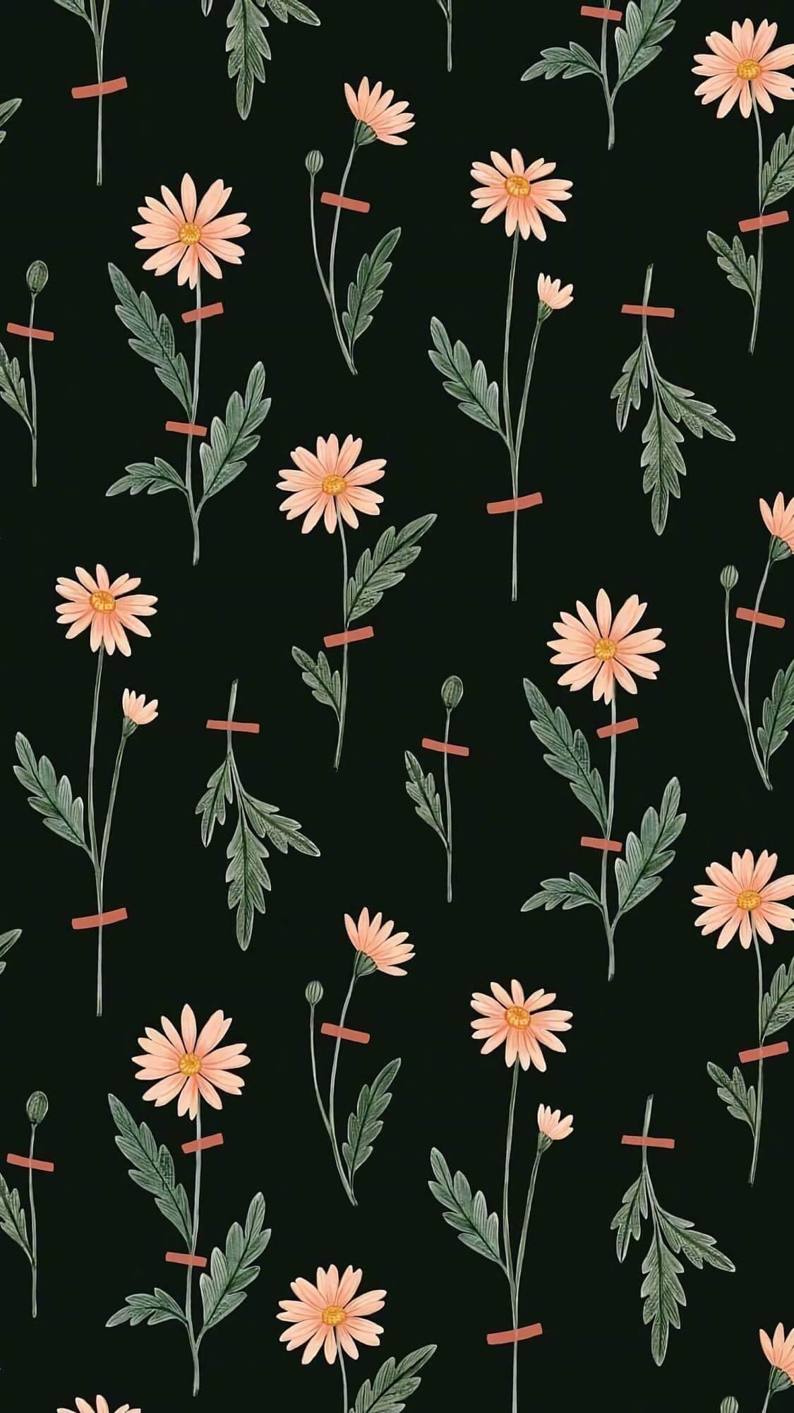 Elegant flowers HD phone wallpaper