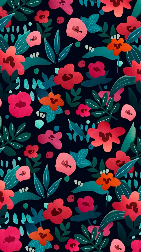 Eye-catching flowers HD phone wallpaper