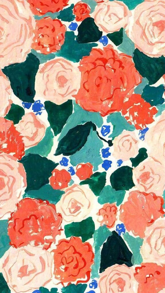 Flowers HD art phone wallpaper