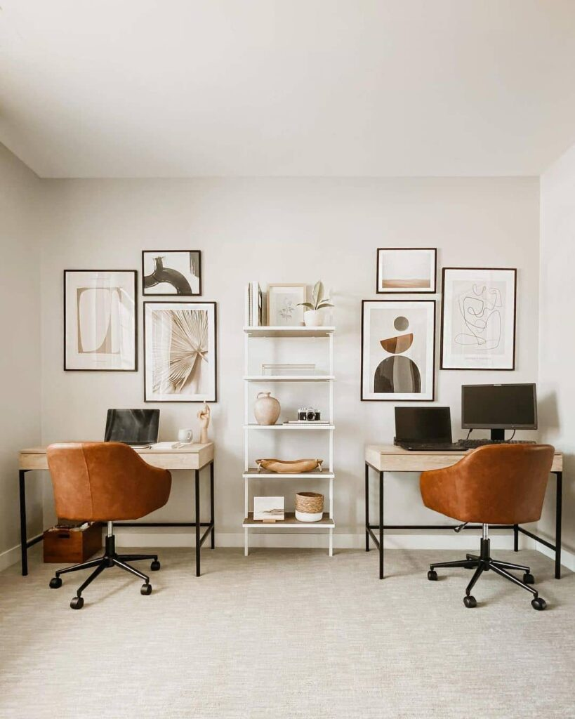 Home office wall decor