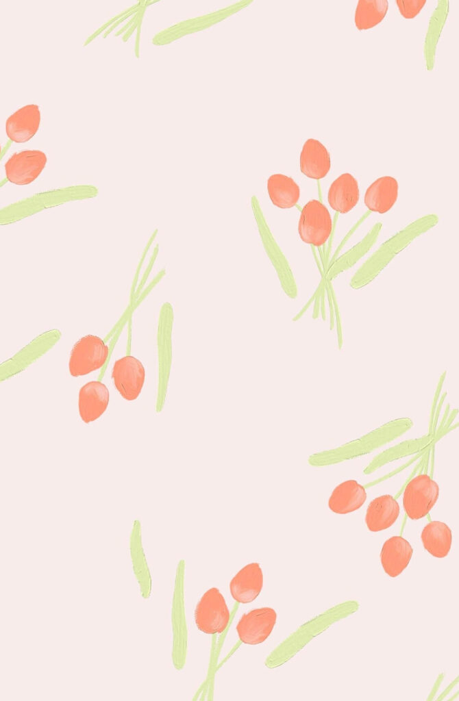 Light pink flowers HD phone wallpaper