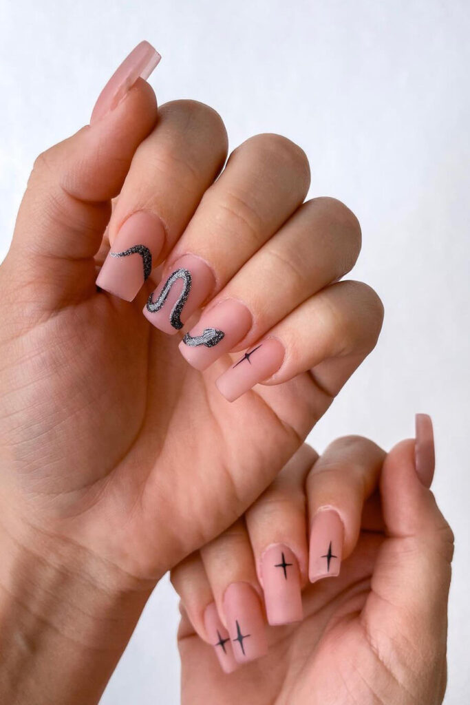 Amazing square nails