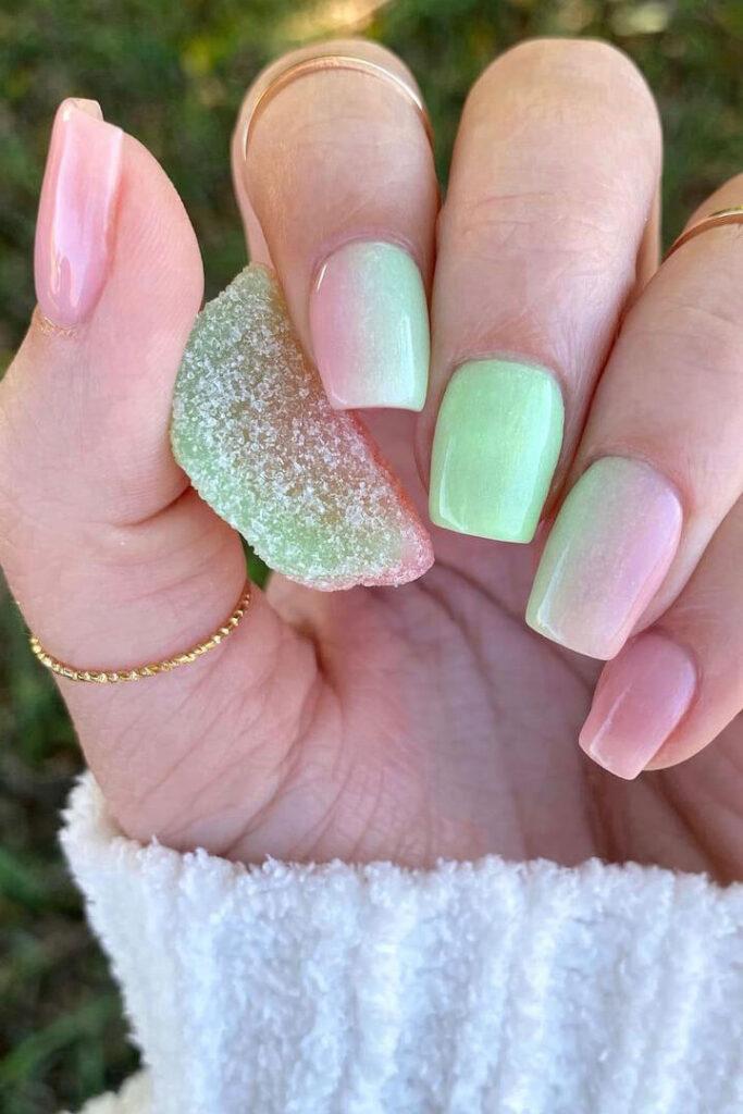 Watermelon Sugar Nails