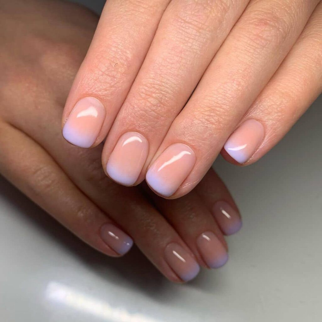 french ombre nails