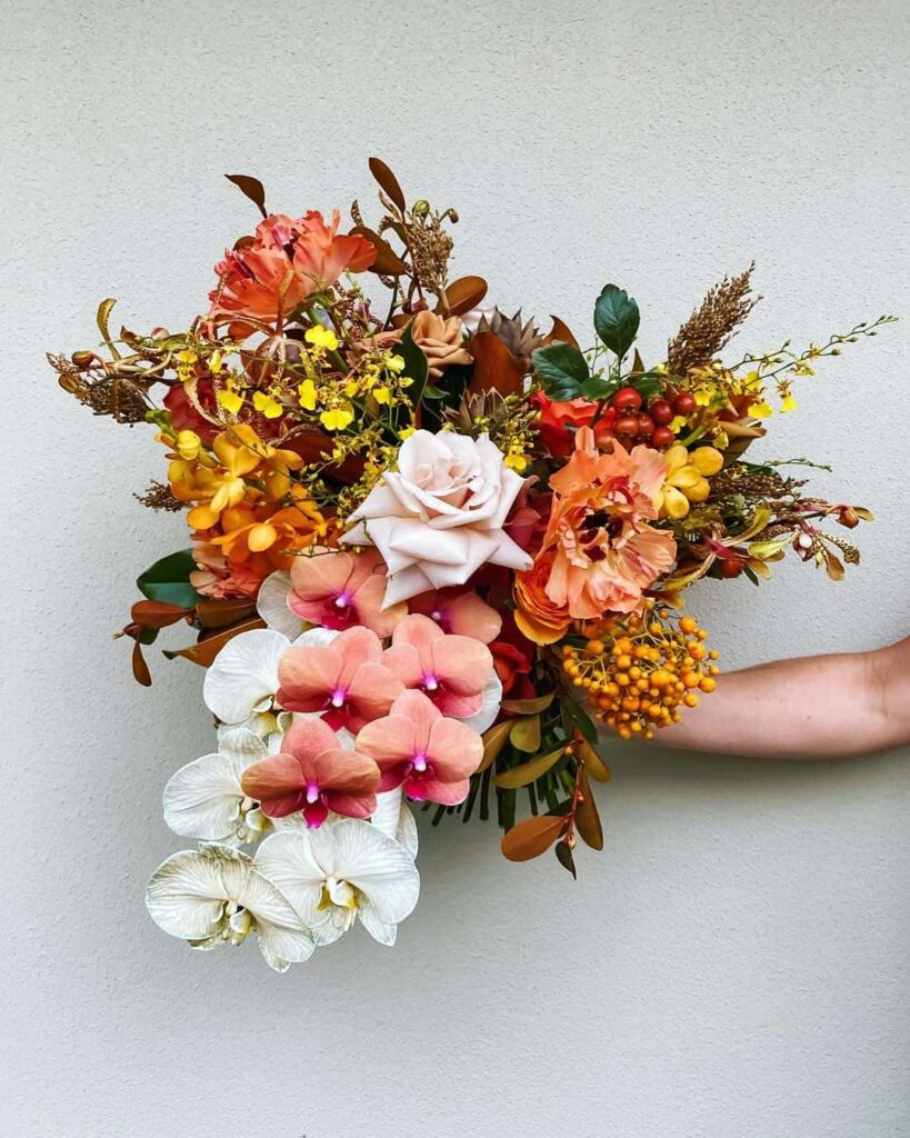 Bright floral palette