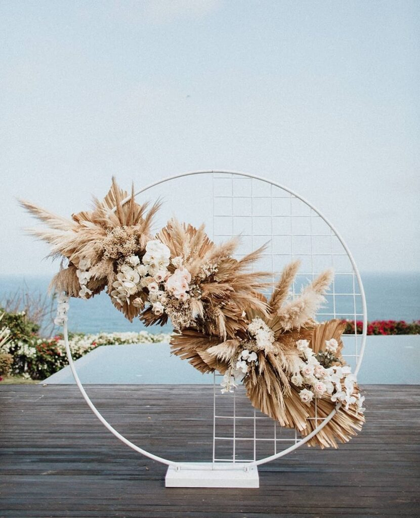 Dried flowers are always popular