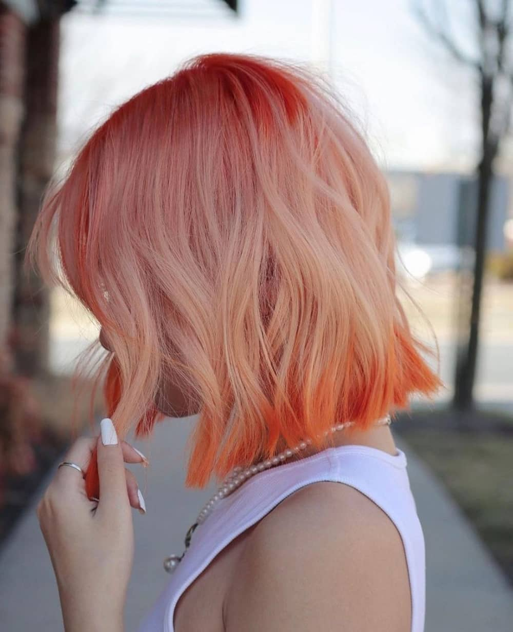 Peach color