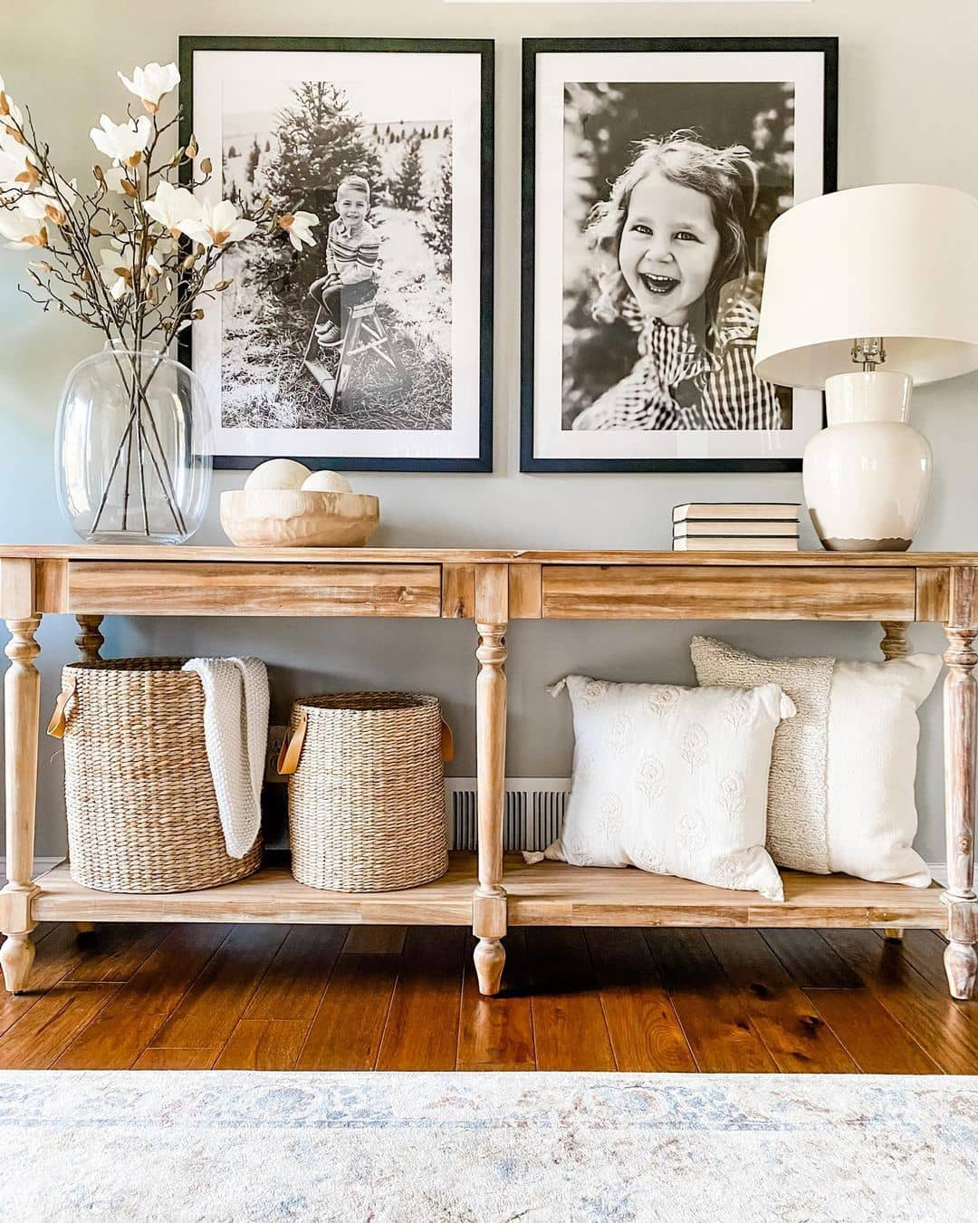 Country style entryway